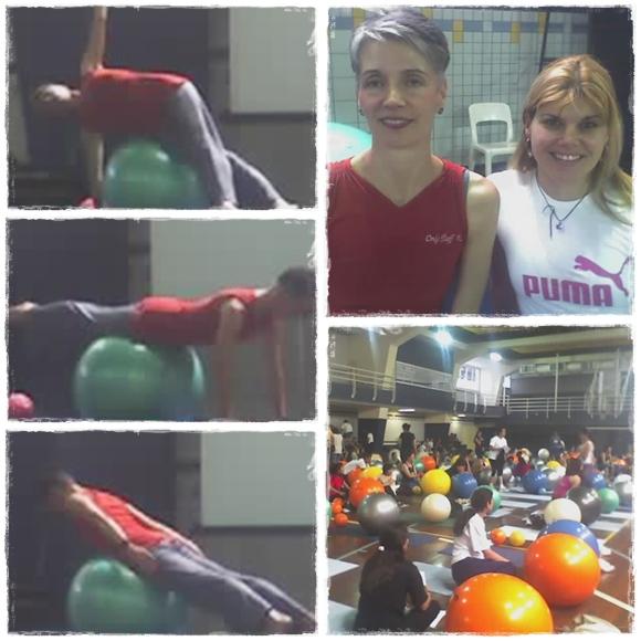 Curso de Pilates da Colleen Craig: Eu fui!!!