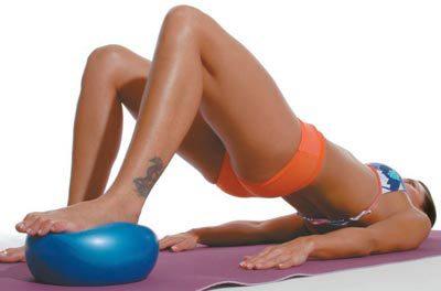 Overball: exercícios para tornear as pernas