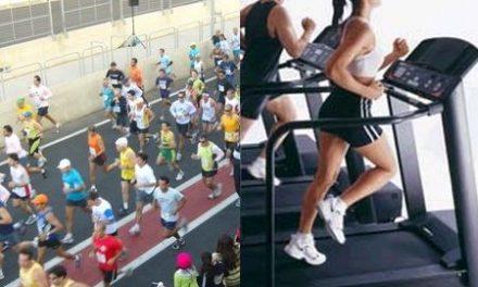 Correr na esteira ou na rua?