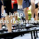 Aula de Jump, vamos pular!!! – Perguntas frequentes