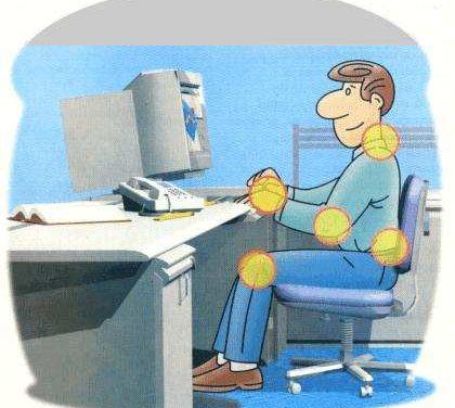 Exercícios para combater problemas causados pelo computador LER – DORT