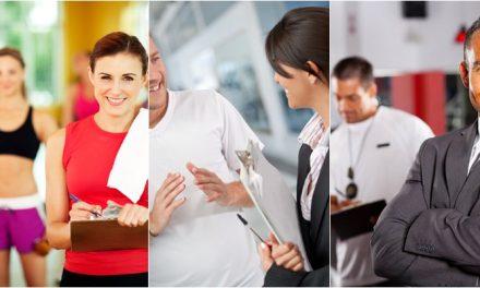 Qual o papel de cada funcionário na Academia de Ginástica?