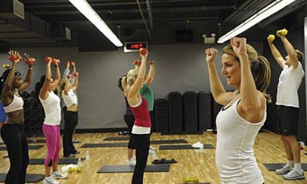Aula de ginástica localizada – estrutura da aula