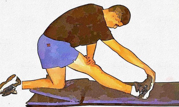 Alongamento para os músculos posteriores da coxa – parte 2