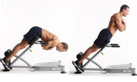 Exercício de extensão do tronco – back extension