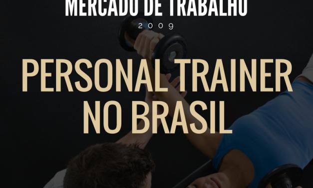 Mercado de Trabalho para o Personal Trainer – Infográfico