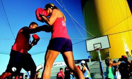 Aulas de MMA e TRX em cruzeiro temático