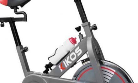 Testei a bike spinning Kikos F4