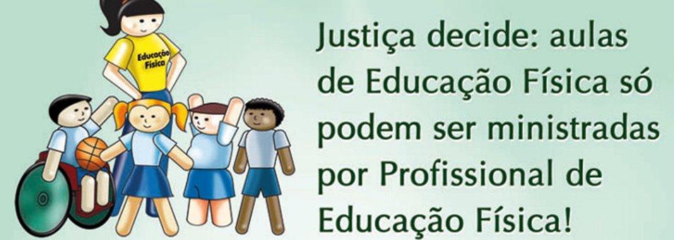 Justiça decide: aulas de Educação Física só podem ser ministradas por Profissional de Educação Física