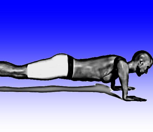Teste de flexão de braços