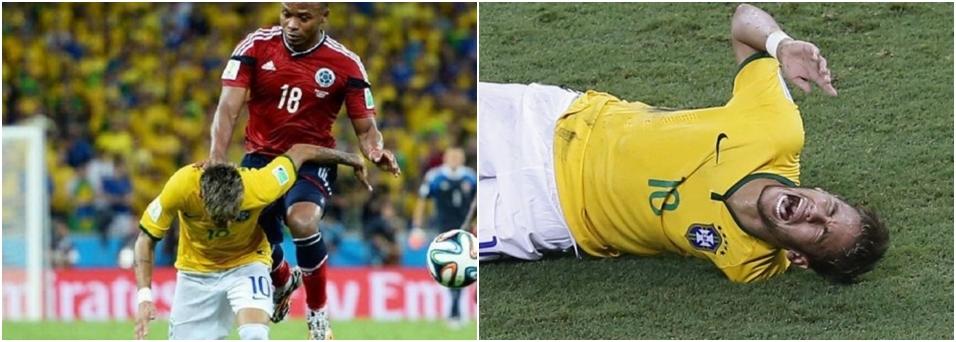 Entenda a lesão na coluna de Neymar na Copa