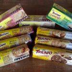 Experimentamos a linha de biscoito Triunfo Cereal Mix