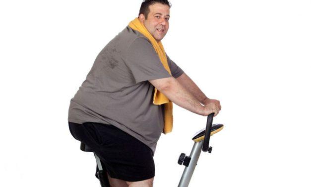 Acima do peso e de bem com avida