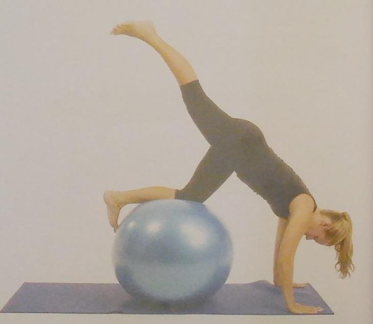 Exercícios desafiadores na bola 2