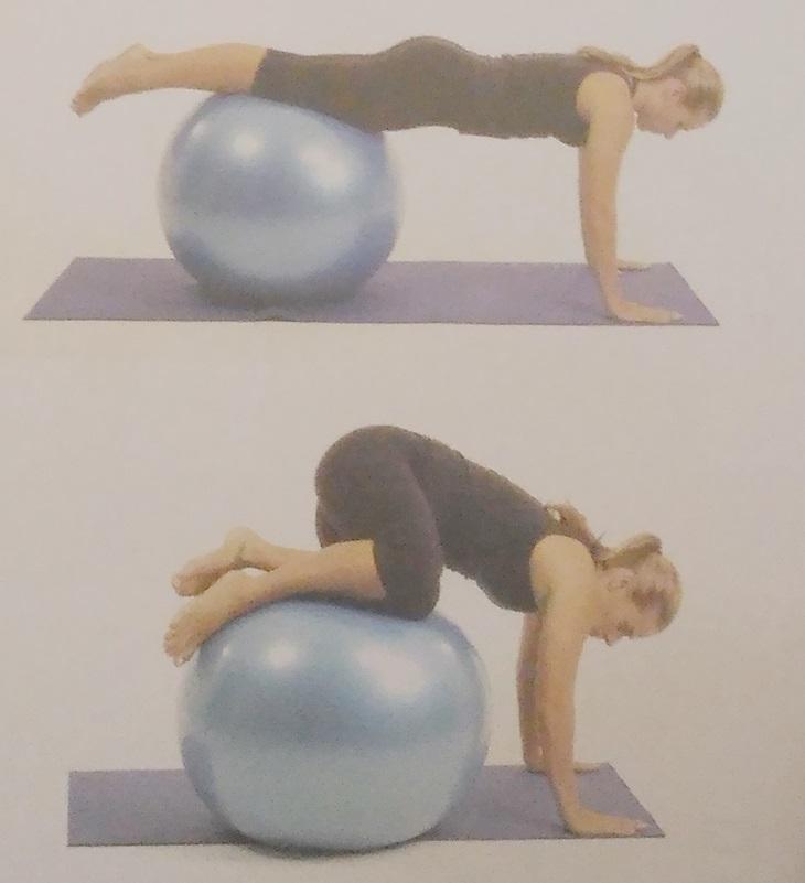 Exercícios desafiadores na bola 3