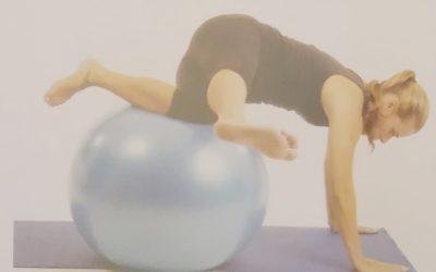 Exercícios desafiadores na bola