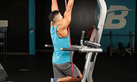 Exercícios na barra para iniciantes