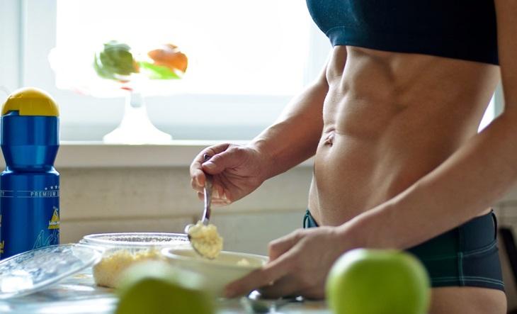 comer antes e depois do exercício