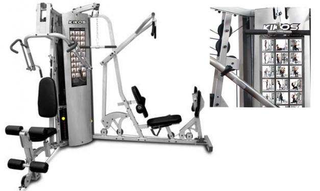 Estação de musculação para ter em casa. Cinco opções.