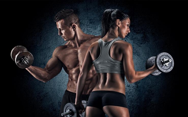 Musculação para homens e mulheres