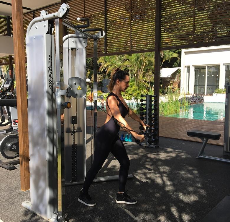 academia em casa life fitness Campinas Decor 2018