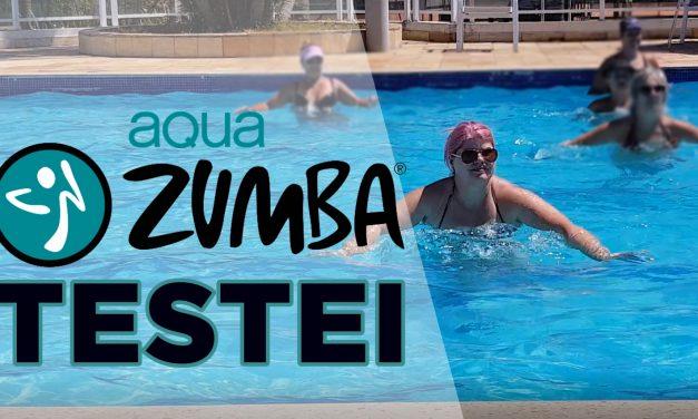 Aqua Zumba – testei essa aula