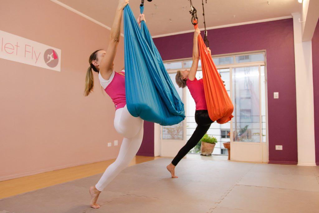 Ballet Fly -  Alongamento de Glúteos
