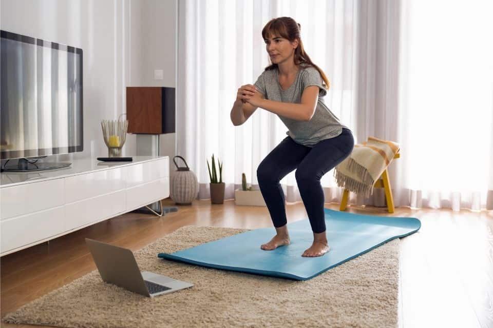 Como começar a fazer exercício em casa