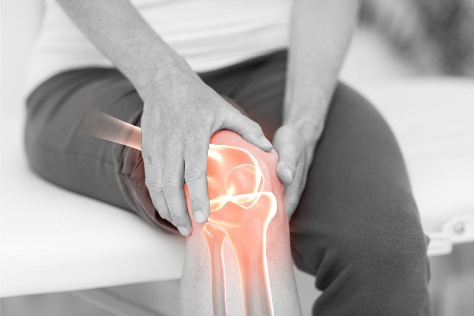 dor no joelho o que fazer
